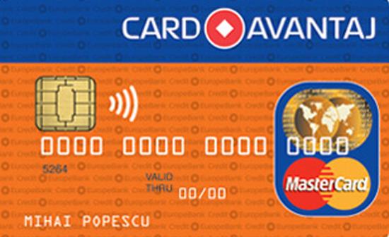 Card activ plati online credit europe