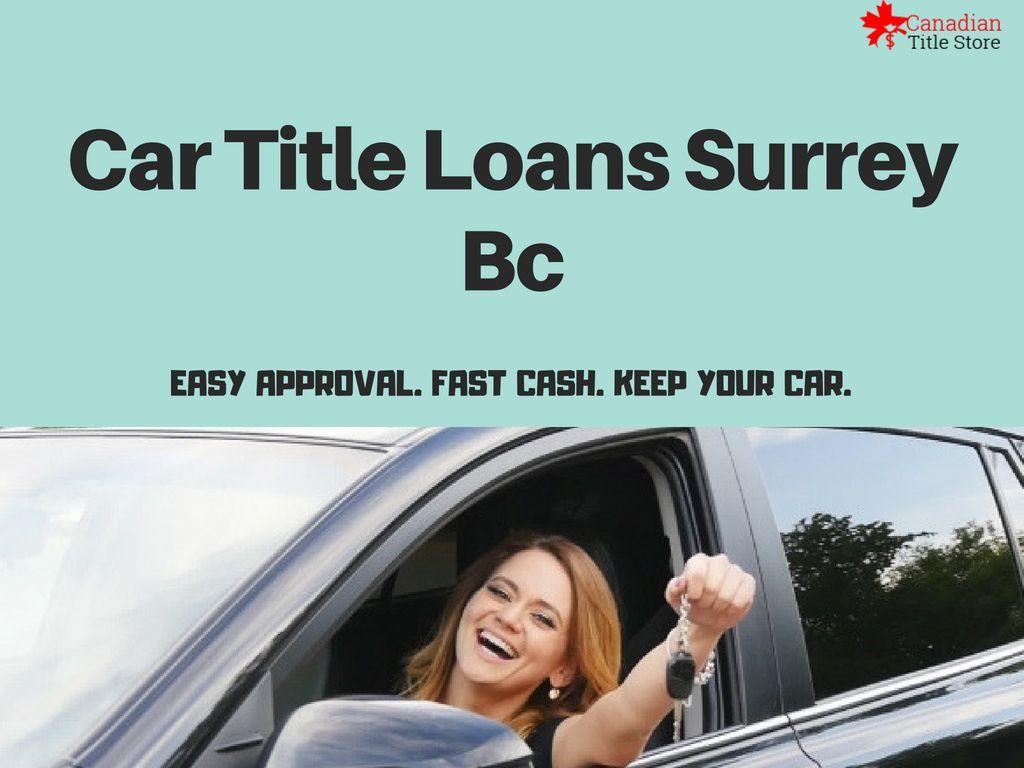 Online title loans no credit check