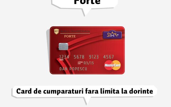 Limita de cumparare online cu card credit la bt transilvania