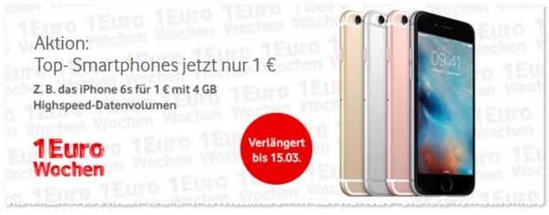 Credit vodafone online 1 euro