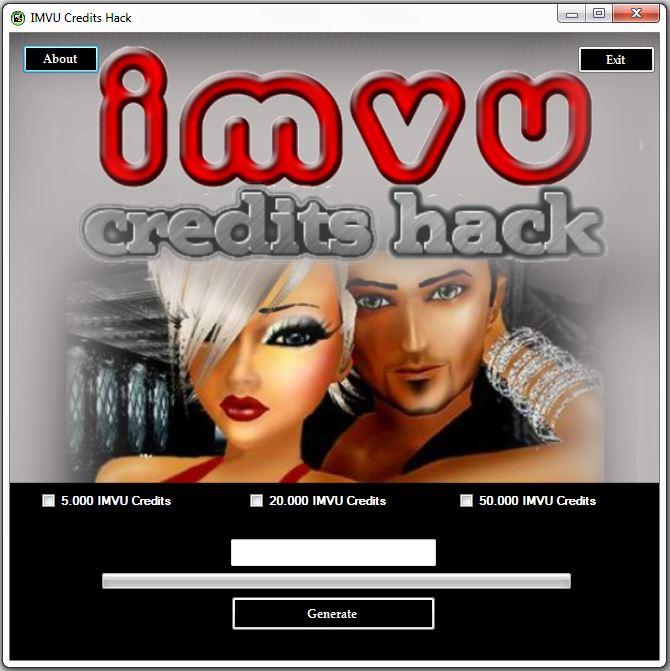 Imvu credits online generator