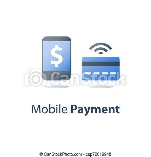 Mobile credit online
