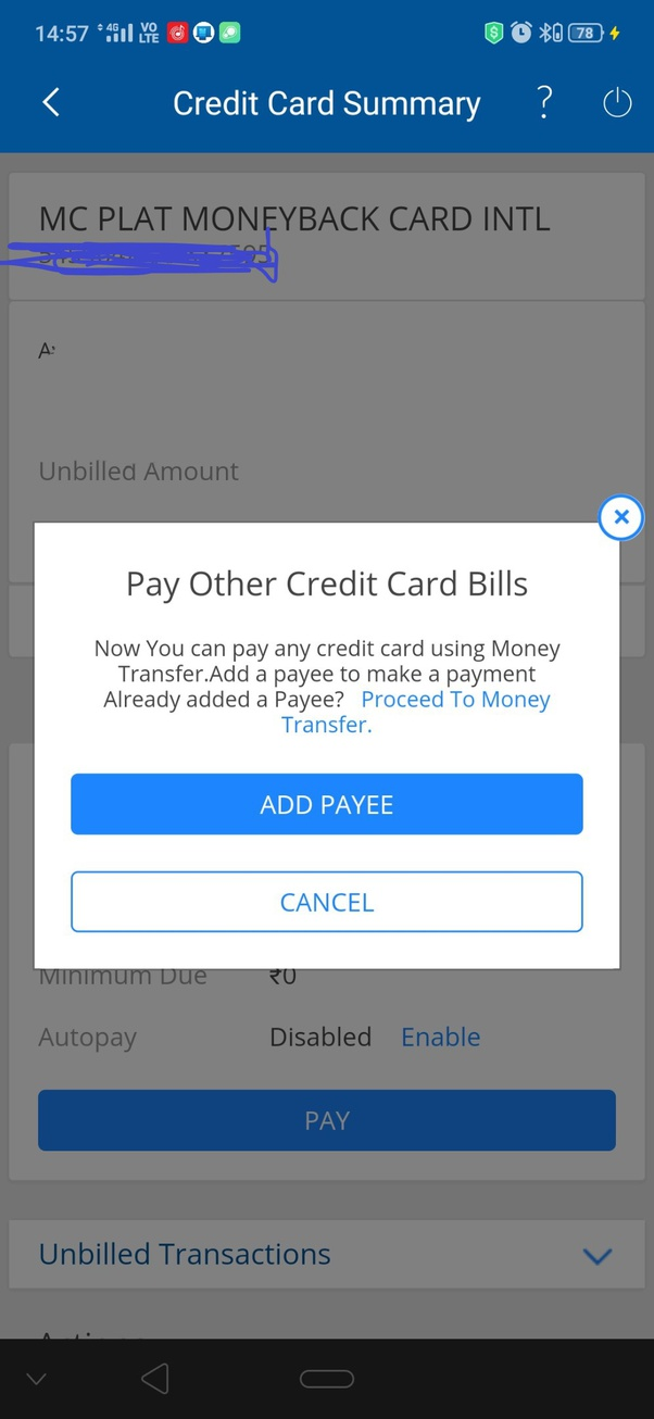 Icici credit card payment online