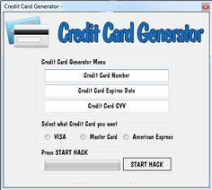 Real credit cards online
