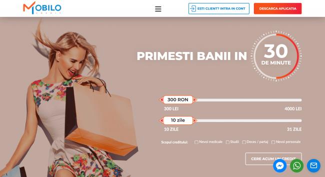 Împrumut bancar site hallo.ro