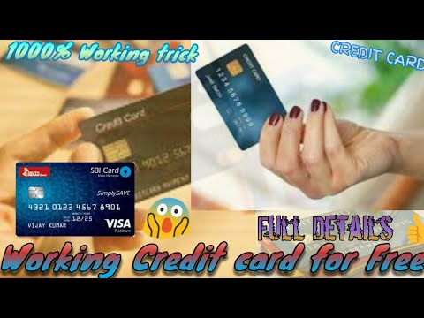Credit card numbers that work online