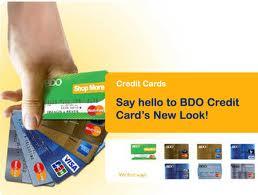 Apply bdo credit card online
