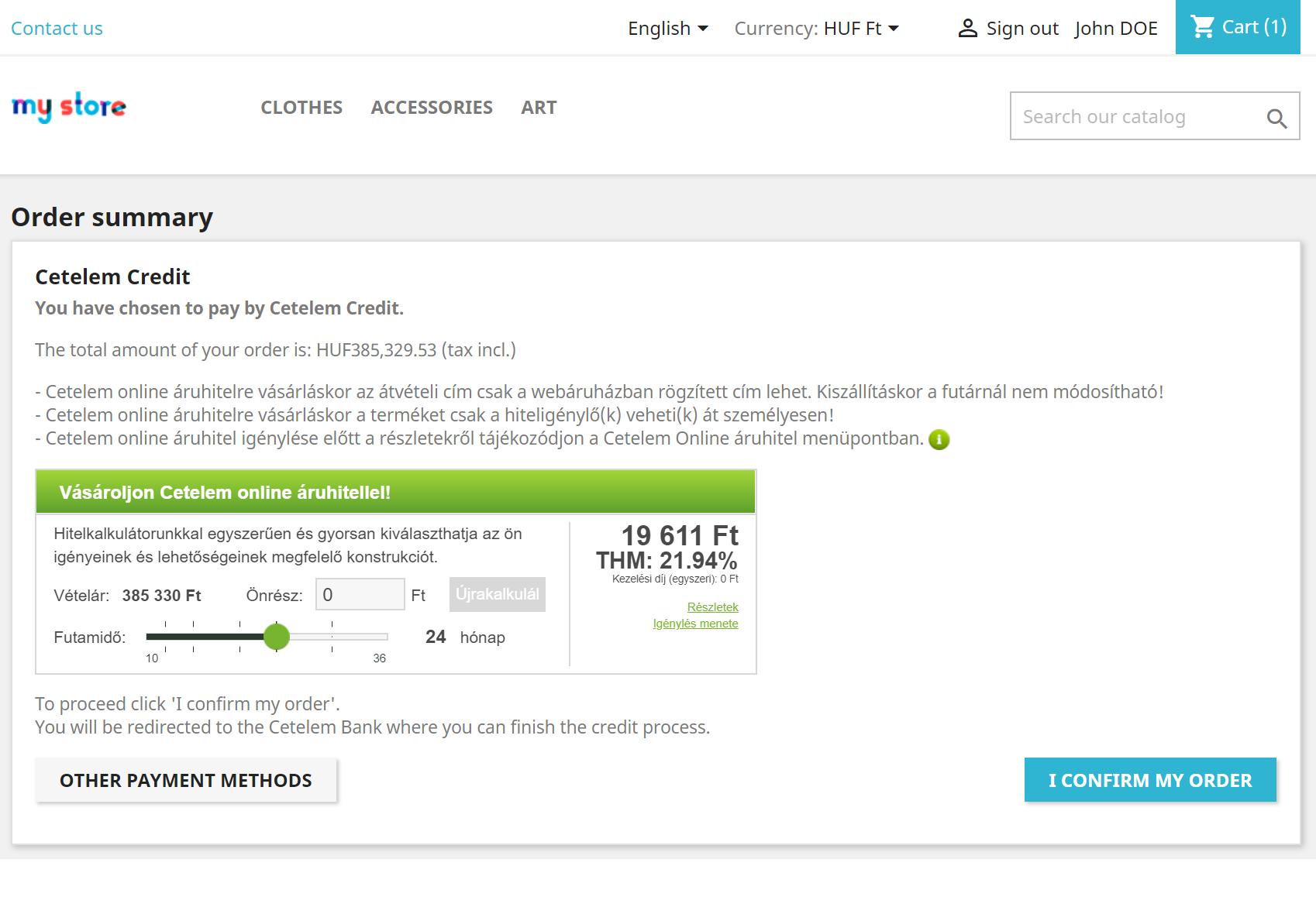 Credit rapid online nebancar cetelem