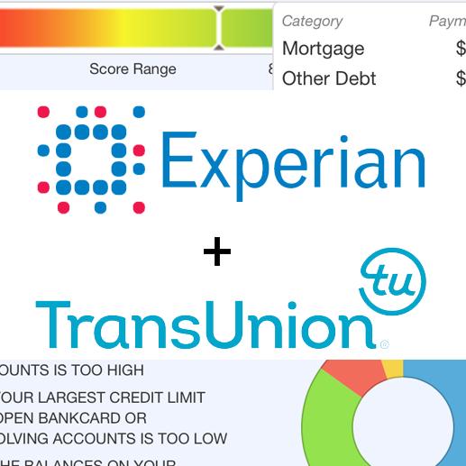 Online credit check for landlords