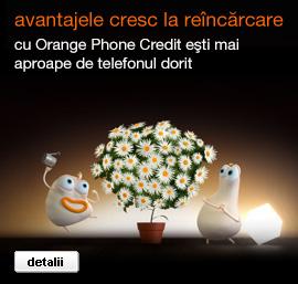 Credit orange prepay online