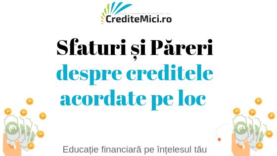 Credite rapide online credius in romania