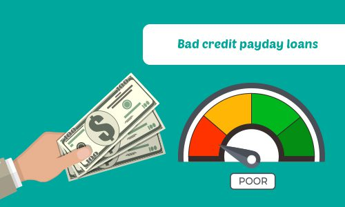 Bad credit loans online