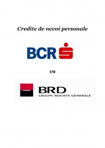 Brd online credit nevoi personale