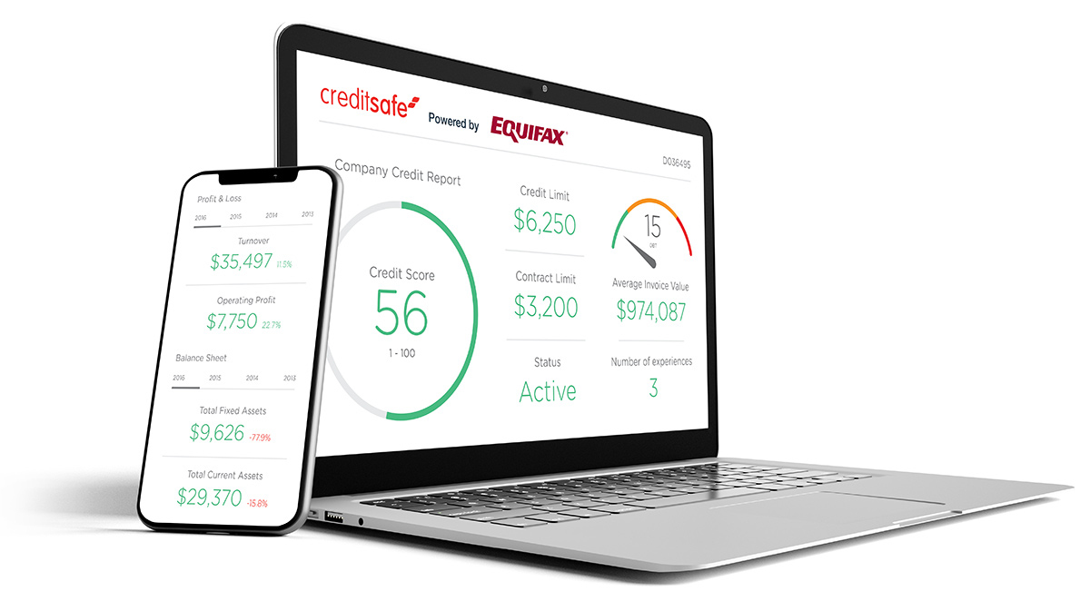 Company credit check online