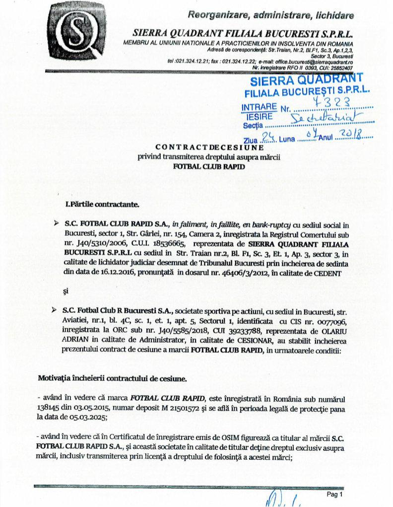 Contract de cesiune de împrumut