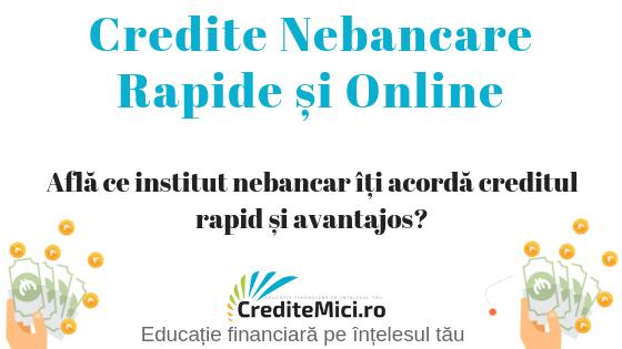 Credit bancar rapid online