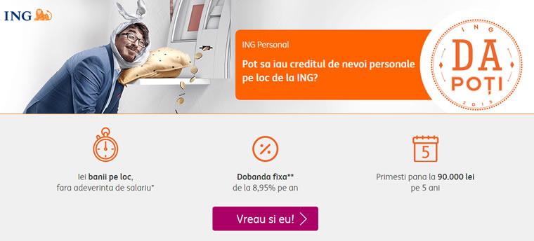 Credit de nevoi personale online nebancare
