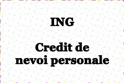 Credit de nevoi personale online