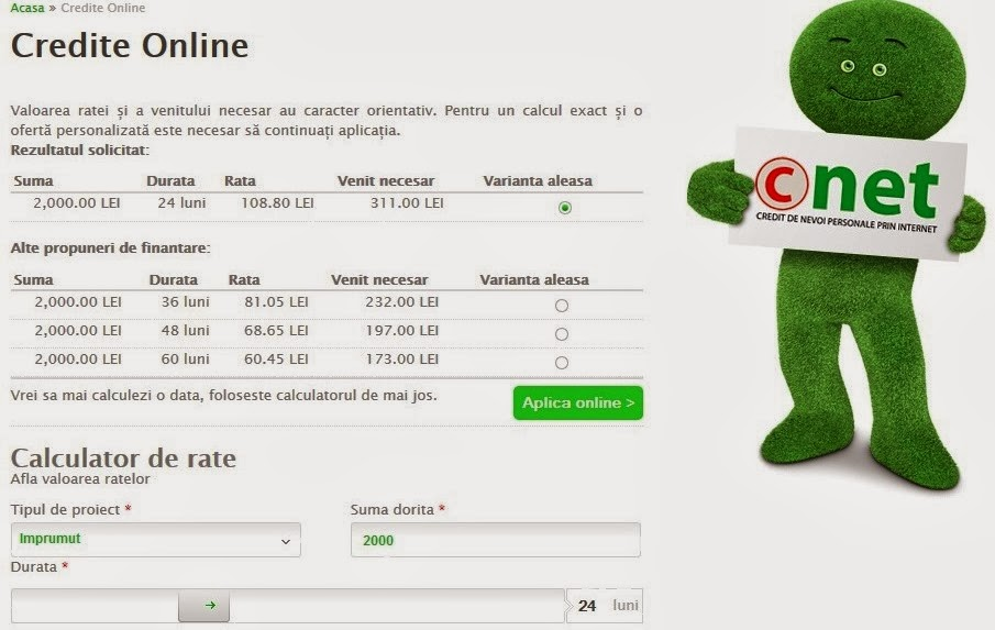 Credite ifn in rate online
