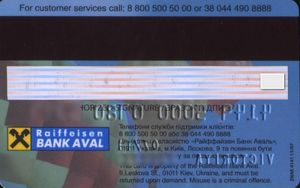 Raifansen online credit card