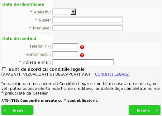 Procedura credit cetelem online