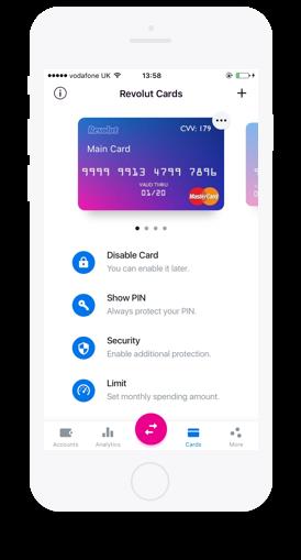 Revolut us an online card or credit