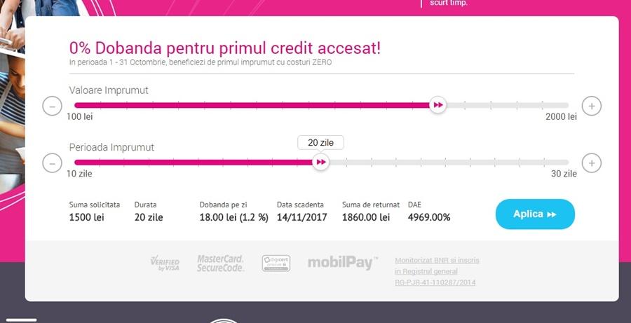 Unde cumpar un credit pentru plati online
