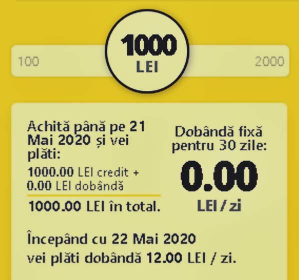 Viva credit cont online