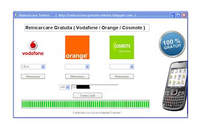 Vodafone credit reincarcare online
